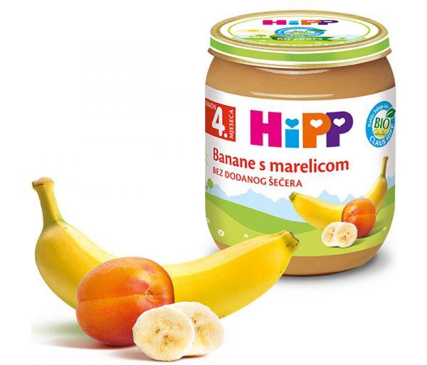 Kašica voæna - kajsija i banana 125gr