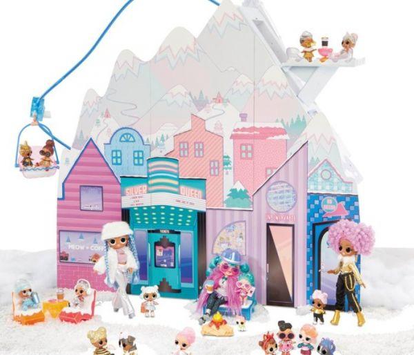Igračka Lol OMG zimska kuća