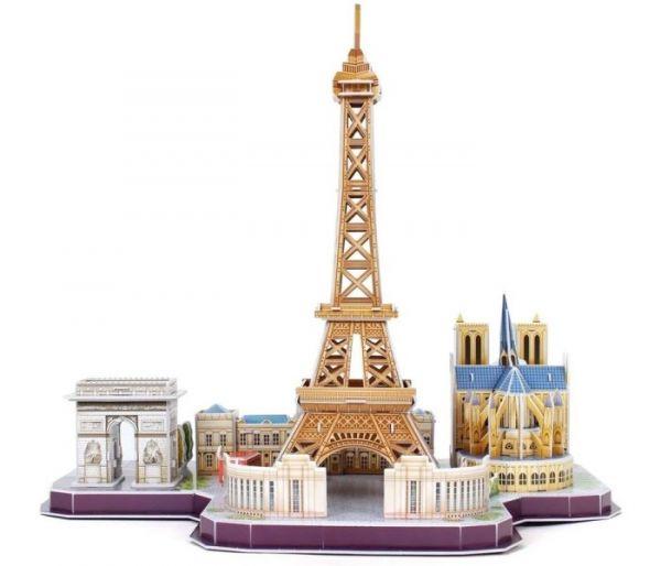 Igračka Cubbic fun puzzle city line Paris