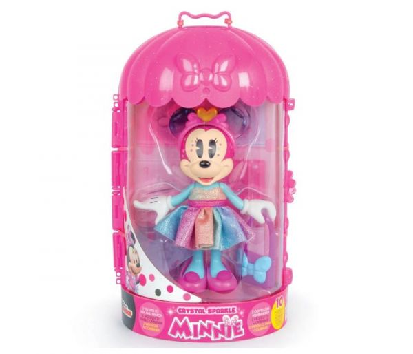 Igračka Minnie modna lutka kristal