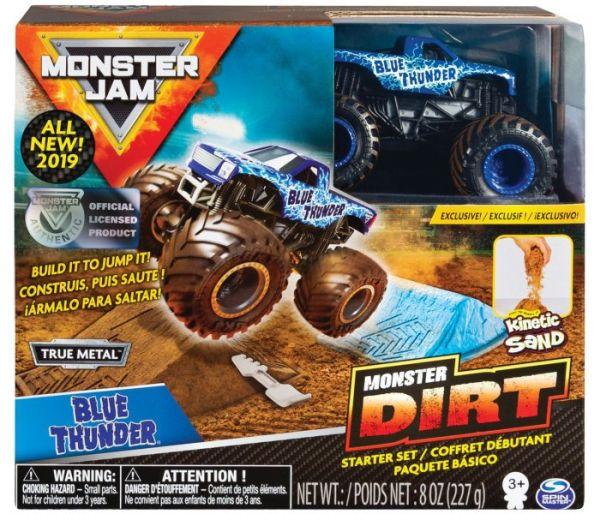 Igracka Monster jam monster dirt thunder set