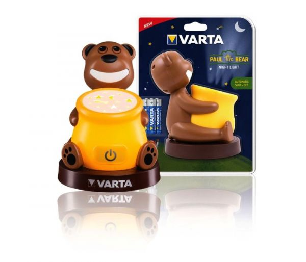 Varta paul the bear noc.svijetlo