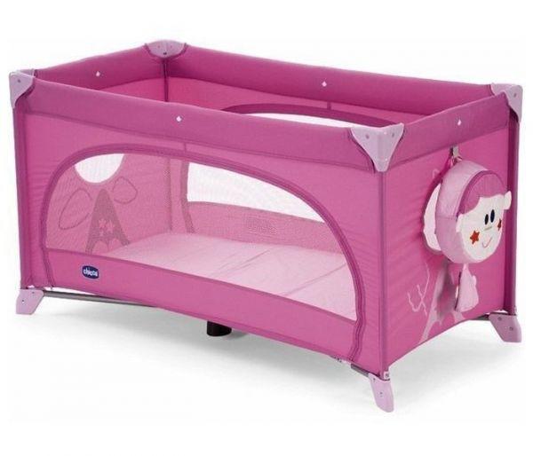 Krevetac za bebe easy relax rozi