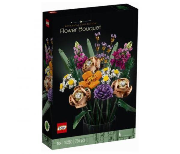 Igračka Lego kocke flower bouquet, Botanical collection 18g+