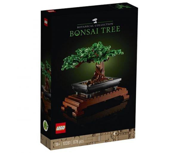 Igračka Lego kocke bonsai tree, Botanical collection 18g+