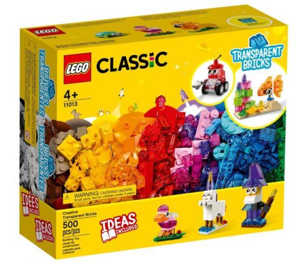 Igračka Lego kocke Creative transparent bricks, Classic 4g+