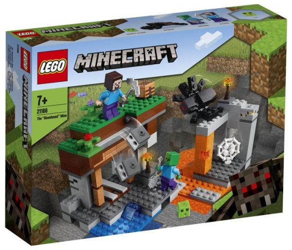 Igračka Lego kocke The abandoned Mine, Minecraft