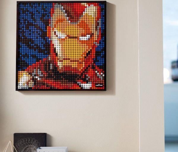 Igračka Lego kocke Marvel studios Iron man Marvel, 18+
