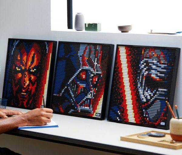 Igračka Lego kocke The sith, Star Wars 18+