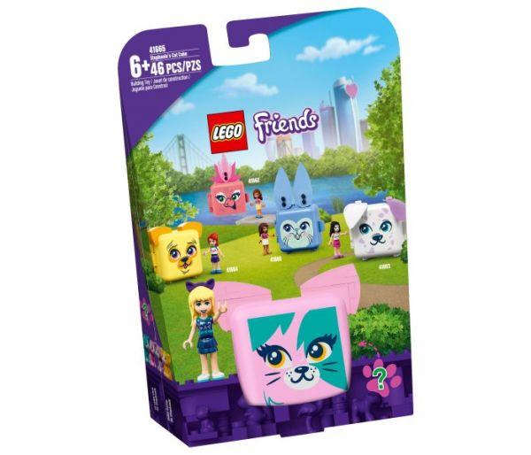 Igračka Lego kocke Stephanie's cat cube,  Friends 6g+