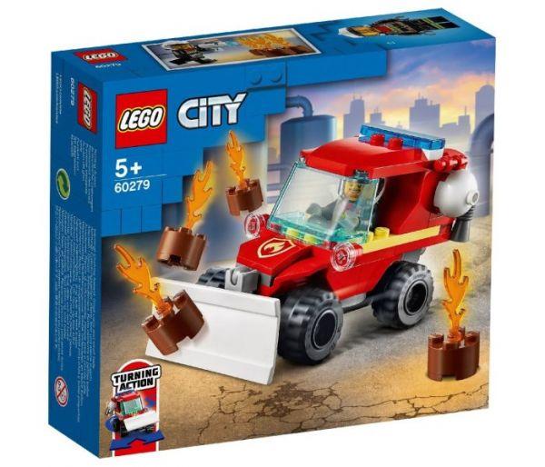 Igračka Lego kocke Fire hazard truck, City 5g+