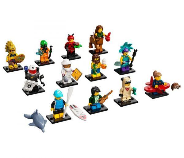 Igračka Lego kocke Kesica Minifigures series 21