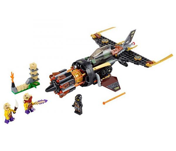 Igračka Lego kocke Boulder blaster, Ninjago 8g+