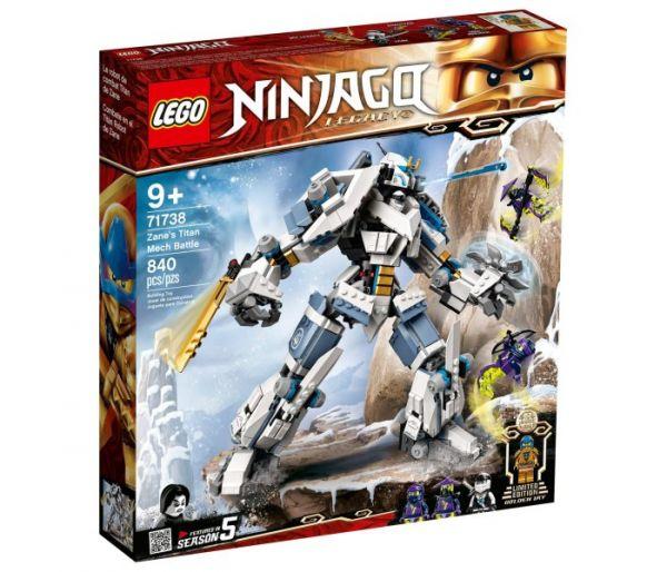 Igračka Lego kocke Zane's titan mech battle, Ninjago 9g+