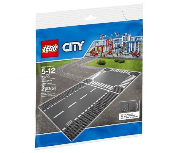 Lego kocke - pravi put i raskrsnica,5-12g city