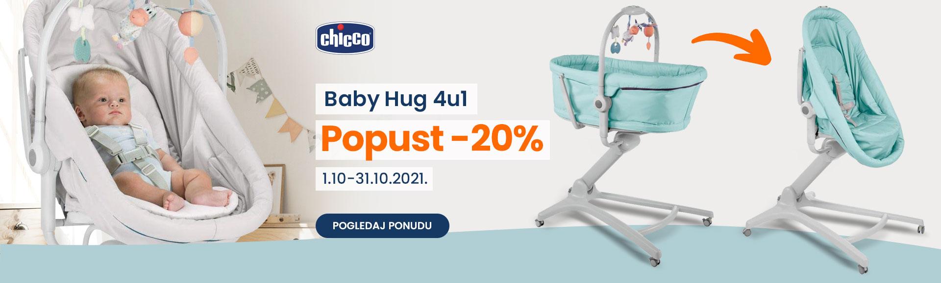 Chicco akcija baby Hug oktobar