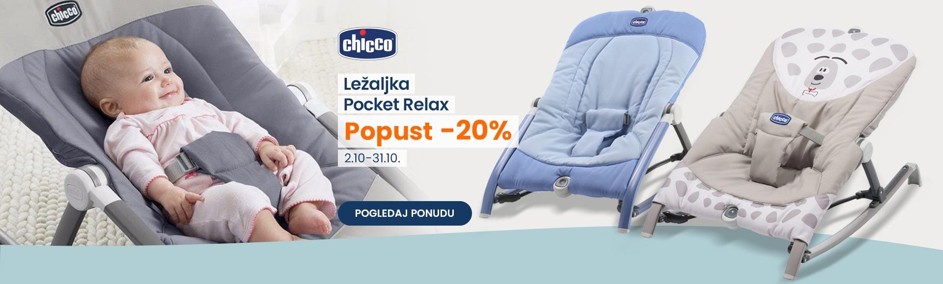 Chicco Pocket Relax akcija oktobar
